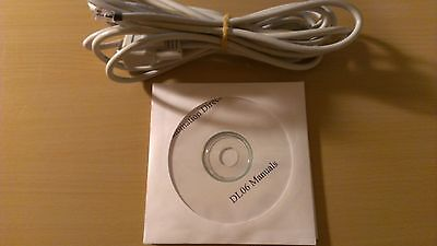 Programming Cable D2-dscbl With Software And Manuals For Automation Direct Dl06
