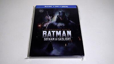 Batman Gotham By Gaslight Blu-ray Steelbook Target Exclusive DC Comics LIKE NEW