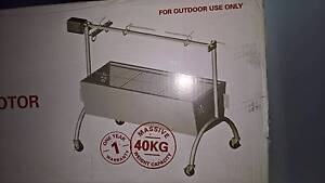 Spit BBQ with Rotisserie Brand New Stainless Steel Carrara Gold Coast City Preview