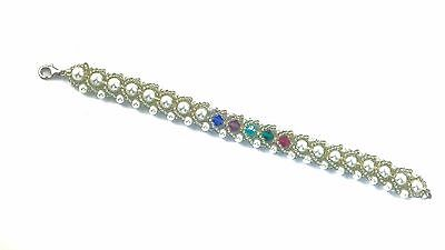 Mom, Grandmother, Birthstone Bracelet with Genuine Swarovski Crystals
