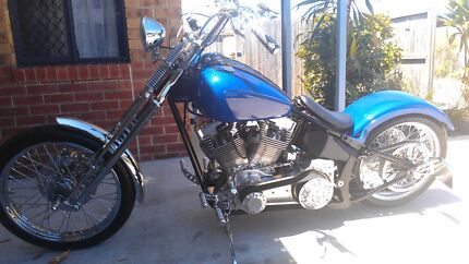 Trade/swap harley for custom built old school 180/200 Softail fra Torquay Fraser Coast Preview