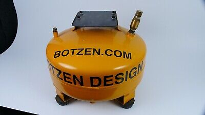 6 Gallon Air Tank Used Very Nice With Adaptor Plate And Check Valve