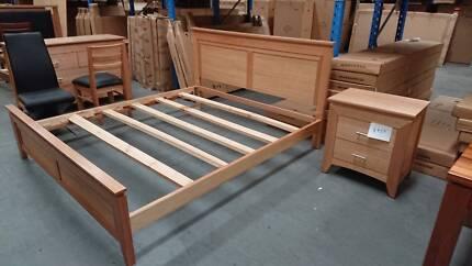 ex-display Victorian Ash KS bed frame
