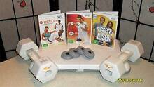 Wii Fit Balanceboard with Weights, Games and foot leg extender se Aberfoyle Park Morphett Vale Area Preview