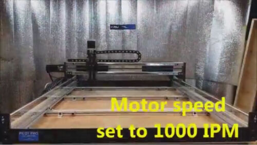 ROBO-SHOP HIGH SPEED CNC ROUTER FAST BALL Screw No Backlash UPGRADE machine kit