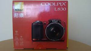Brand New Nikon L830 16MP/34x optical Zoom Digital Camera Meadow Heights Hume Area Preview