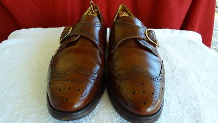 Loake single strap leather shoes UK10 US11 Windsor Brisbane North East Preview