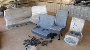 Rear Seats to Suit 2006 Toyota Hiace Commuter Bus Lochiel Wakefield Area Preview