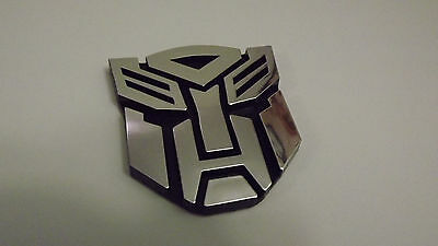 TRANSFORMERS Chrome Emblem Badge Symbol Auto Car Truck SUV (Chrome Auto Car Emblem)