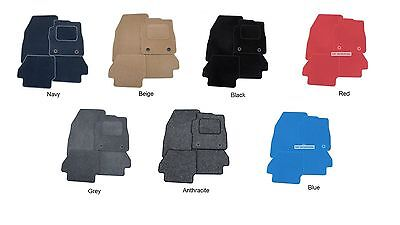Audi TT Mk2 CoupeRoadster 2007  Full Set Of Car Mats Black Beige Red Blue NEW