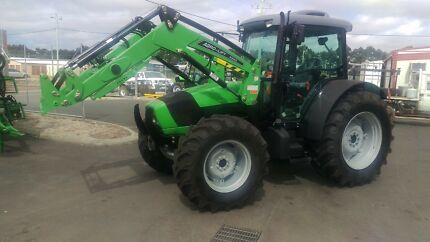 Deutz Agrofarm 100DT Tractor and Loader