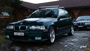1997 BMW 318ti E36 M-Sport Hatchback Cronulla Sutherland Area Preview