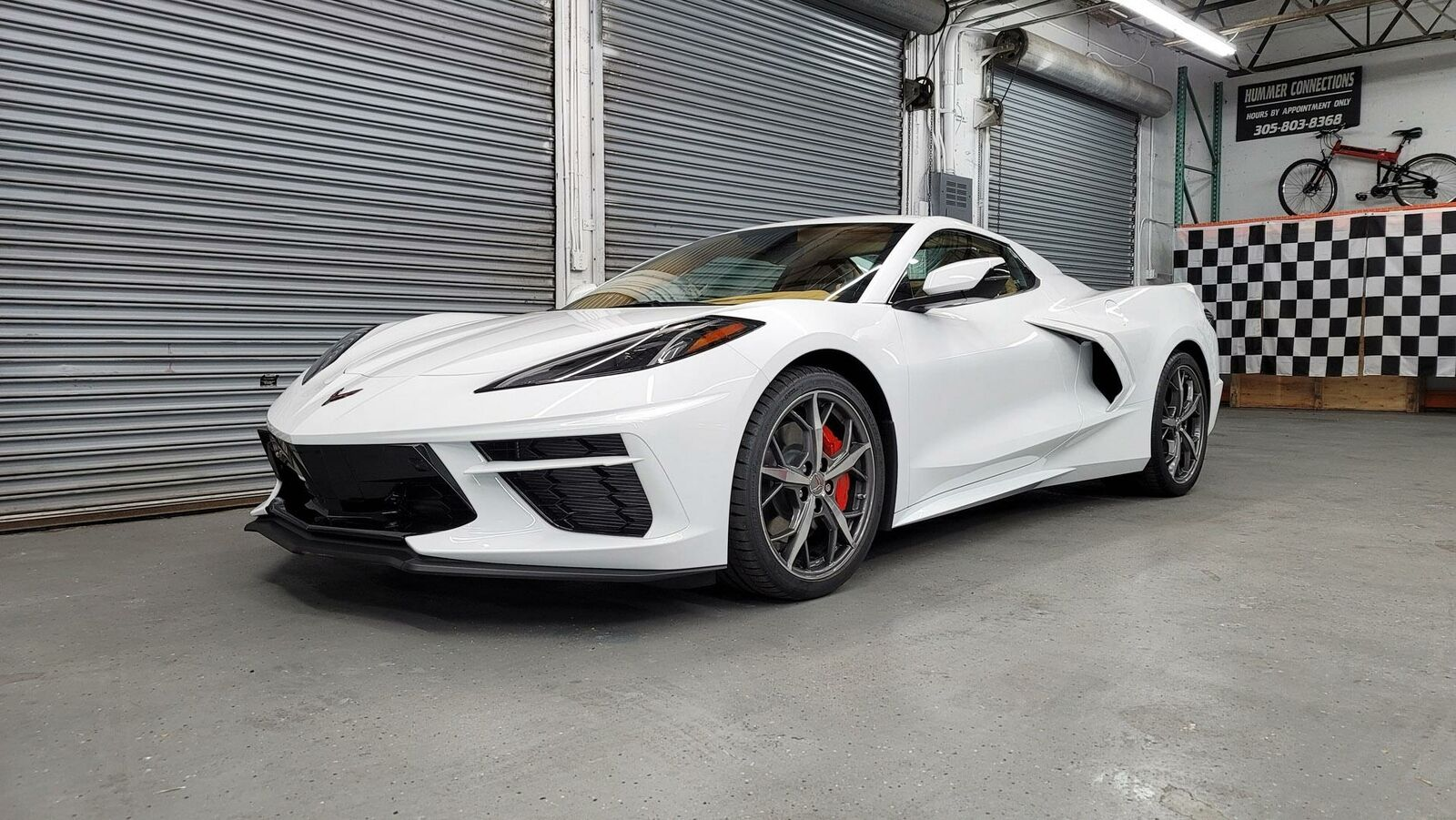 2021 White Chevrolet Corvette  3LT | C7 Corvette Photo 2
