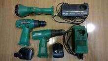 Hitachi cordless drill x2 and torch Stafford Brisbane North West Preview