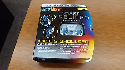 Icy Hot Smart Relief Tens Therapy Knee and Shoulder Pain Therapy Exp 1/2018