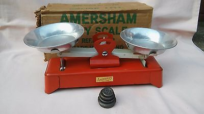 AMERSHAM TOY SCALE VERY RARE SET IN ITS ORIGINAL BOX FROM THE 1960,s,ENGLAND,VGC