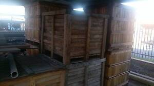Wooden boxes Redcliffe Redcliffe Area Preview