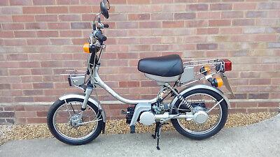 1990 Yamaha QT50 Vintage Moped