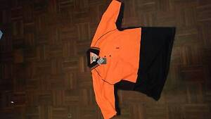 New DNC polo shirt high visibility orange/navy,  large Sydney City Inner Sydney Preview