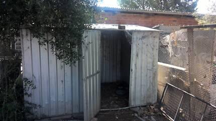 garden chook shed