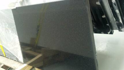 Black Essa stone benchtop for Kitchen & Vanity - 15 year warranty Hallam Casey Area Preview