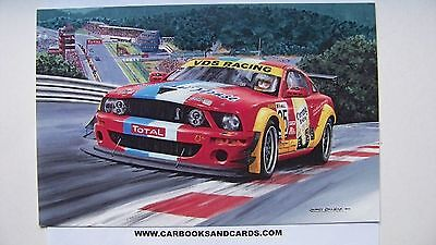 CARD SPA 24 HOURS / HEURES 2012 : VDS MUSTANG