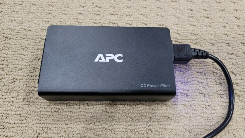 APC C2 Wall Mount Power Filter