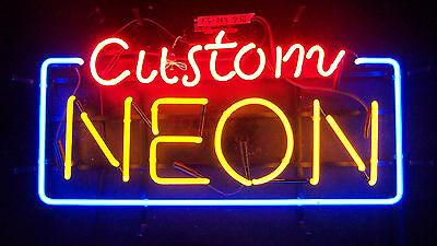 "New Custom Neon Sign Wall Decor 14""x10"" Ship From USA"