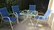Five piece outdoor table and chair setting Coombabah Gold Coast North Preview