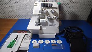 Bernina Bernette 5 Thread Safety Stitch Overlocker Sewing Machine Point Cook Wyndham Area Preview