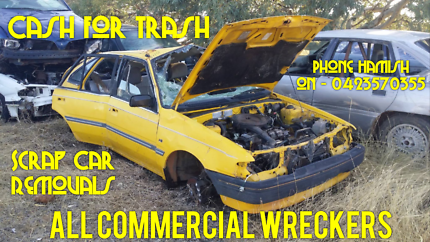 Junk Car Removal - All Commercial Wreckers Maddington