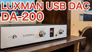 Luxman D-200 DAC & headphone amplifer at $800 discount off RRP! Prospect Prospect Area Preview