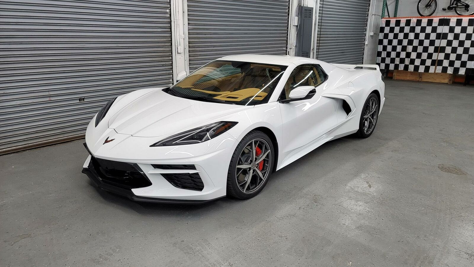 2021 White Chevrolet Corvette  3LT | C7 Corvette Photo 1