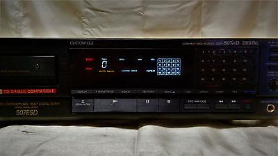 Vintage Sony CDP-507ESD Digital CD Player Audiophile Hi-Fi