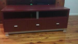 tv unit with shelf and draws Colyton Penrith Area Preview