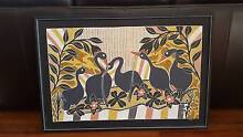 Indigenous Magpie Geese art from NE Arnhemland Albion Brisbane North East Preview