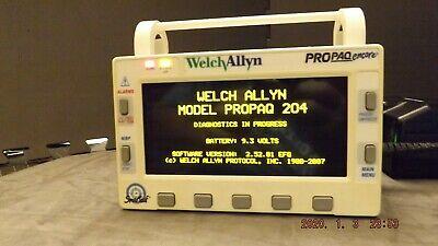 Welch Allyn Propaq Encore Model 204el Patient Monitoring Unit