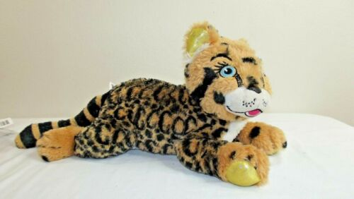 """Girl Scout Cookie Leopard Go For Bold 2019 Reward 14"""" Plush Little Brownie"""