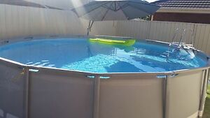 Intex Above Ground Swimming Pool Fulham Gardens Charles Sturt Area Preview