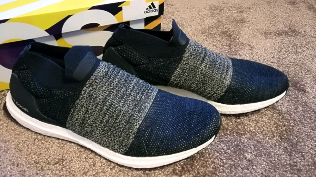 9f890e874 Brand new Adidas ultra boost laceless navy US11