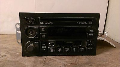 96 97 98 99 00 Oldsmobile CD Cassette Radio Alero Intrigue 88 Cutlass 09366503