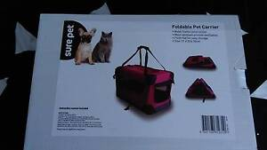 foldable pet carrier Bray Park Pine Rivers Area Preview