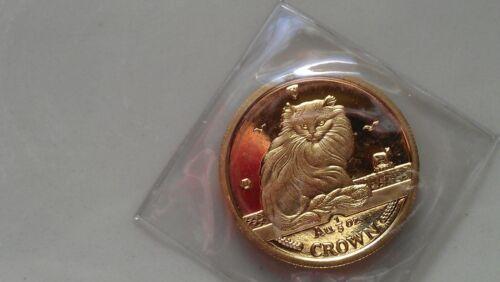 1995 Isle of Man GOLD TURKISH CAT COIN 1/5 oz. - POBJOY MINT SEALED - NO SPOTS