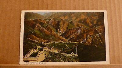 Postcard Unposted, China, Great wall of china