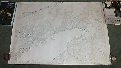 Dunmanus Bay Map 99 cm x 67 cm Second Edition 1901