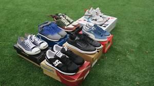 Puma, Reebok, Converse Sneakers