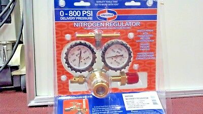 Nitrogen Regulator Uniweld Rhp800 0-800 Psi Delivery Pressure