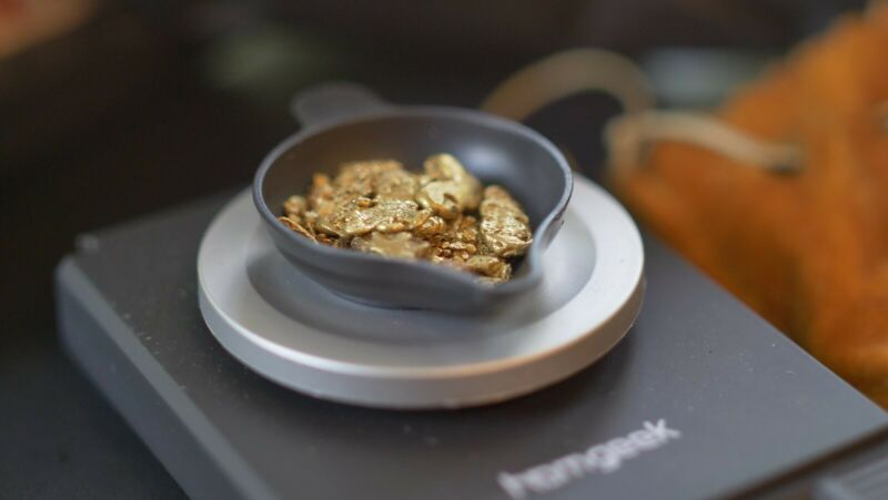 PAYDIRT CONCENTRATE. Gold added. 1 gram guaranteed!