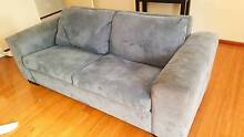 Free blue sofa / couch, converts to bed as well Samson Fremantle Area Preview