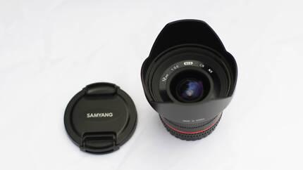 Samyang 12mm f 2.0 for NX Lens